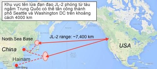 """Mỹ """"phục kích"""" diệt tàu ngầm Trung Quốc ở Biển Đông, Hoa Đông ảnh 2"""