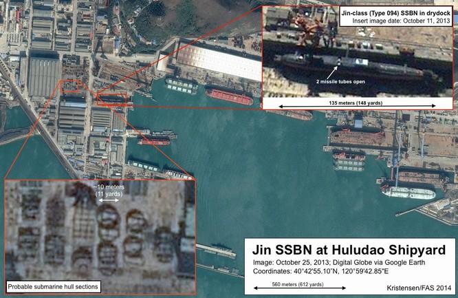 """Bí mật về """"át chủ bài"""" tàu ngầm hạt nhân Trung Quốc ảnh 3"""
