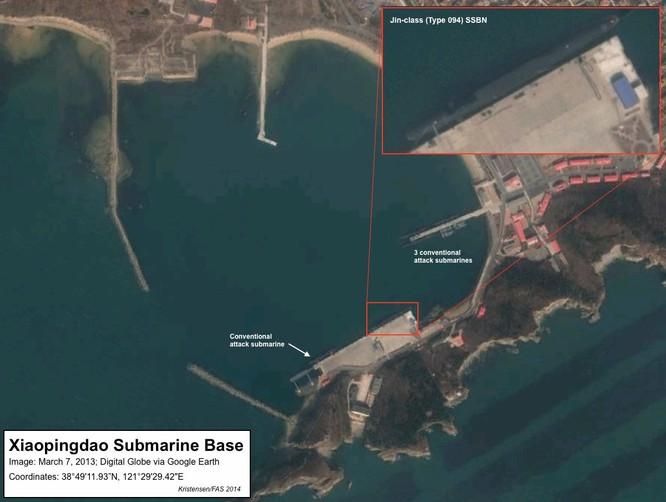 """Bí mật về """"át chủ bài"""" tàu ngầm hạt nhân Trung Quốc ảnh 5"""