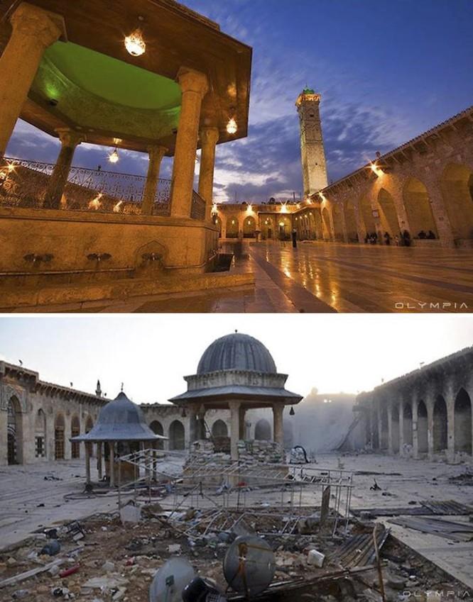 Thành phố Aleppo tan hoang đau thương trong chiến tranh ảnh 10