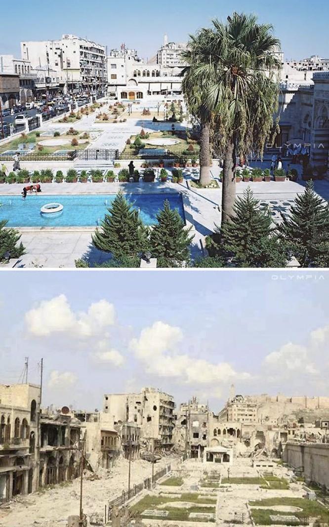 Thành phố Aleppo tan hoang đau thương trong chiến tranh ảnh 1