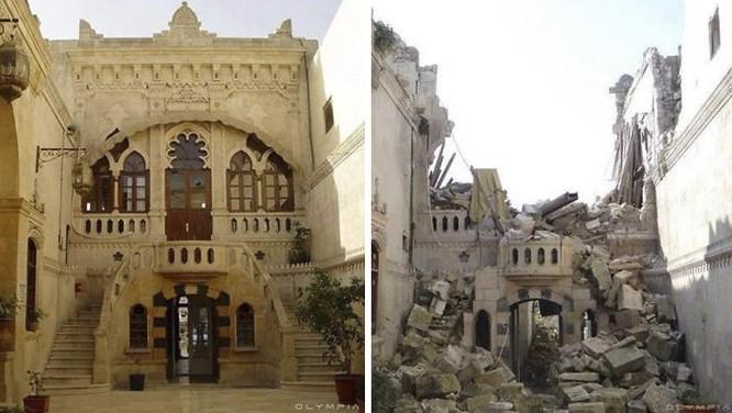 Thành phố Aleppo tan hoang đau thương trong chiến tranh ảnh 3