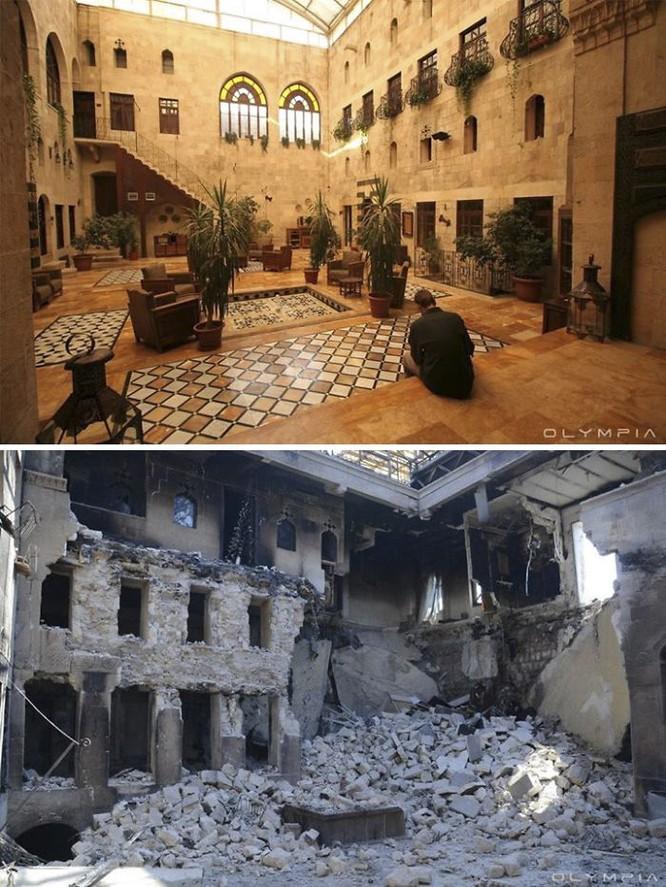 Thành phố Aleppo tan hoang đau thương trong chiến tranh ảnh 4