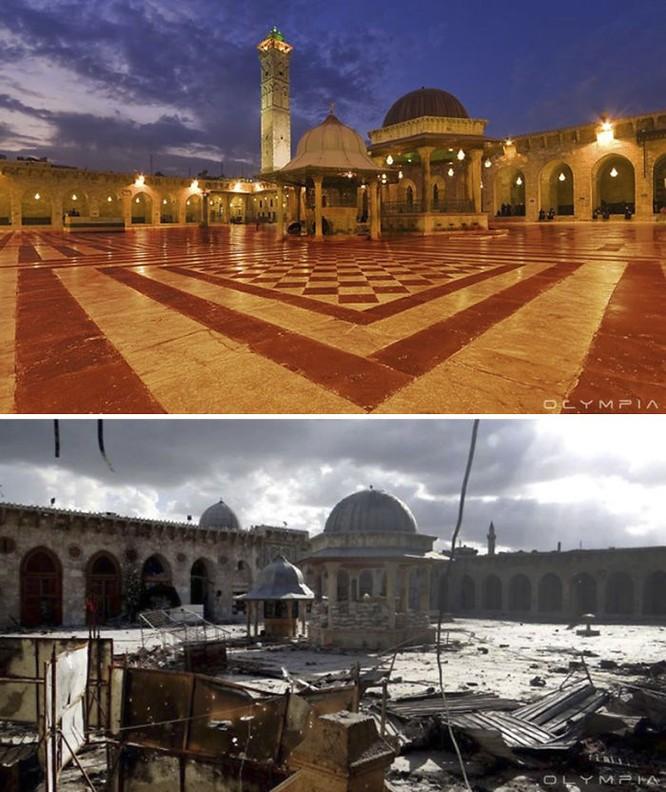 Thành phố Aleppo tan hoang đau thương trong chiến tranh ảnh 5