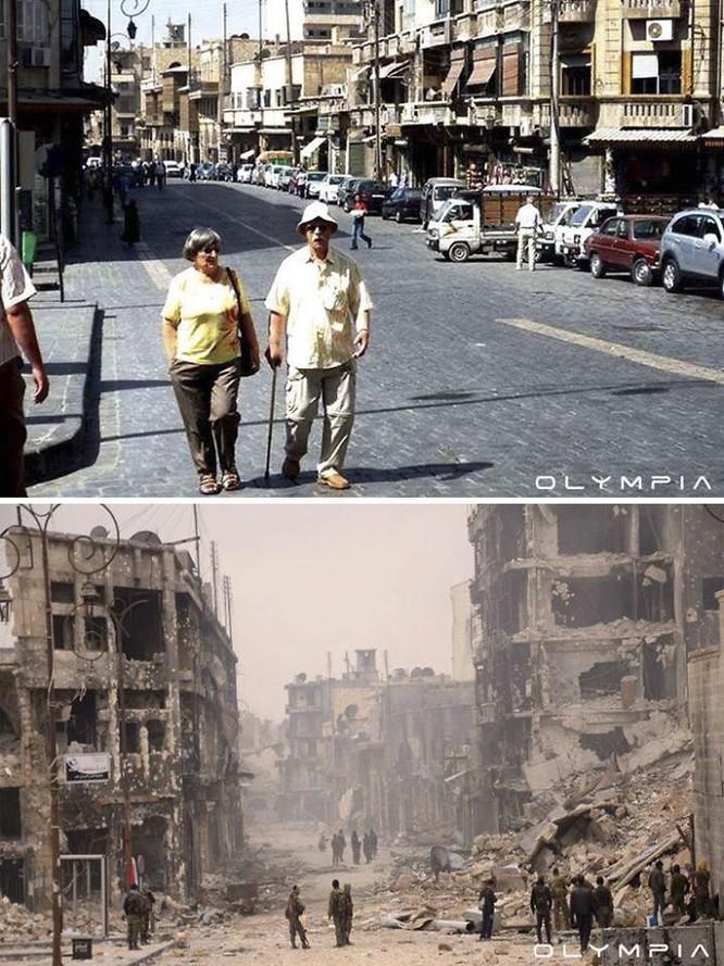 Thành phố Aleppo tan hoang đau thương trong chiến tranh ảnh 6