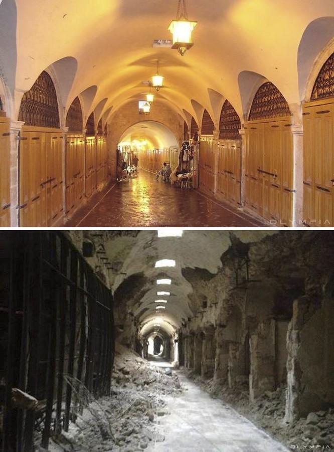 Thành phố Aleppo tan hoang đau thương trong chiến tranh ảnh 7