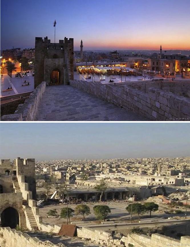 Thành phố Aleppo tan hoang đau thương trong chiến tranh ảnh 8