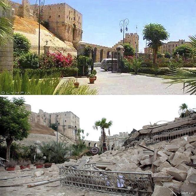 Thành phố Aleppo tan hoang đau thương trong chiến tranh ảnh 9