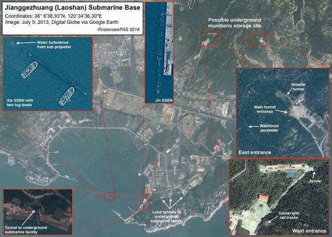 Tàu ngầm Trung Quốc khó thoát trước thiên la địa võng Mỹ ảnh 1