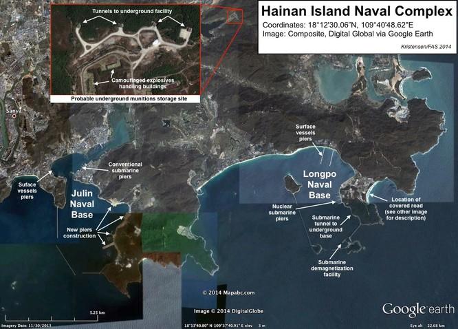 Tàu ngầm Trung Quốc khó thoát trước thiên la địa võng Mỹ ảnh 3