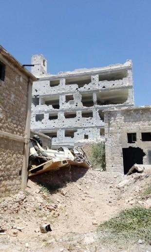 Quân đội Syria tiếp tục tấn công ở thành phố Aleppo ảnh 1