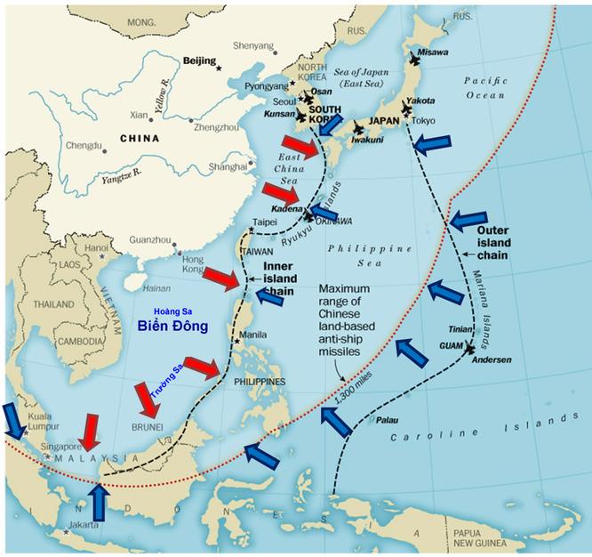 Nếu nổ ra xung đột Biển Đông, Trung Quốc tổn thất trước tiên ảnh 4