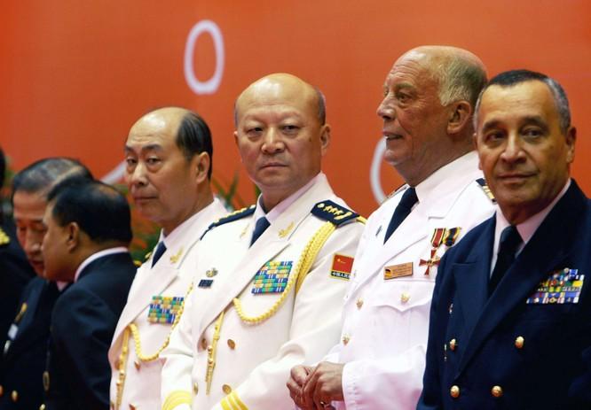 Đô đốc Tham mưu trưởng Hải quân Mỹ thăm Trung Quốc ảnh 1
