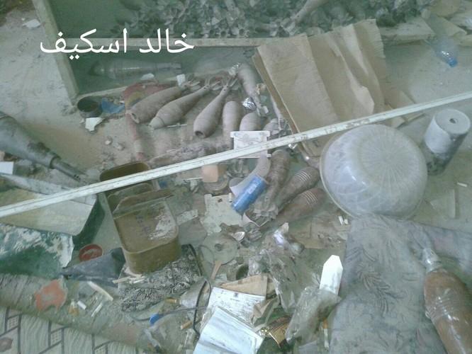 Sư đoàn cơ giới số 14 tiếp tục tấn công trong khu công nghiệp Layramoun ảnh 14