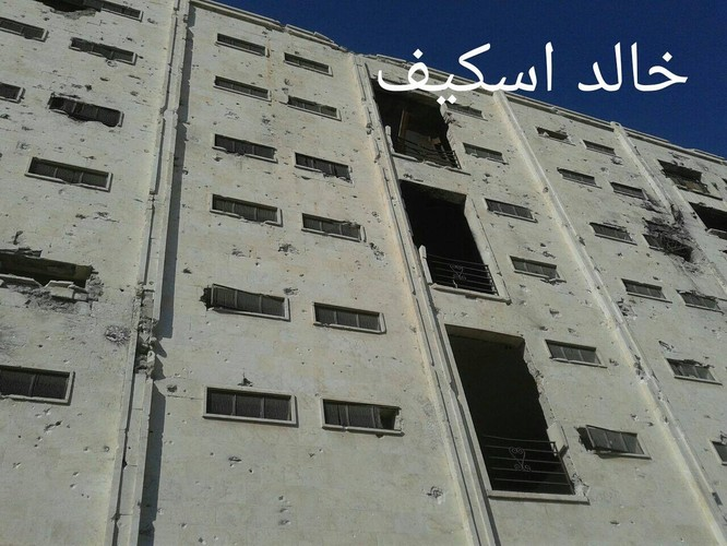 Sư đoàn cơ giới số 14 tiếp tục tấn công trong khu công nghiệp Layramoun ảnh 15