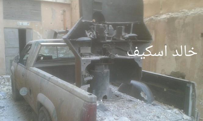Sư đoàn cơ giới số 14 tiếp tục tấn công trong khu công nghiệp Layramoun ảnh 2