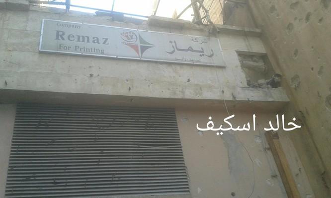 Sư đoàn cơ giới số 14 tiếp tục tấn công trong khu công nghiệp Layramoun ảnh 4