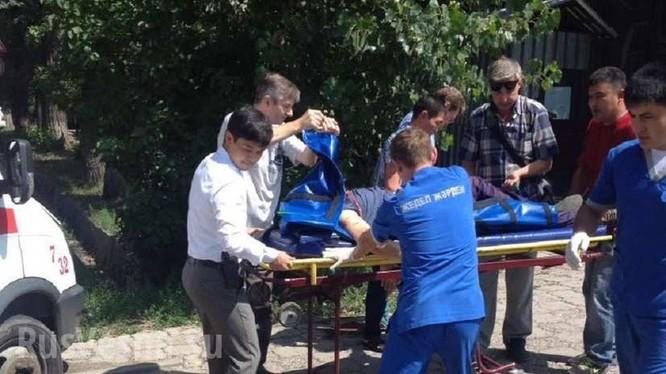 Khủng bố tại thành phố Alma-Ata, hai cảnh sát hy sinh ảnh 2