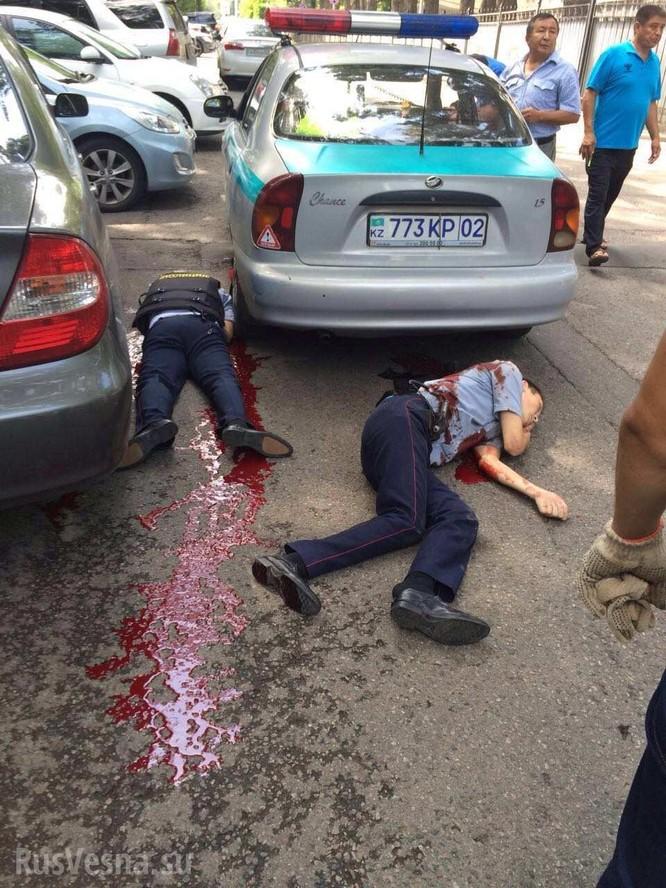 Khủng bố tại thành phố Alma-Ata, hai cảnh sát hy sinh ảnh 3