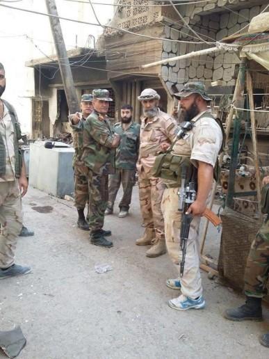 Quân đội Syria tiếp tục tấn công hỏa lực tiêu diệt IS ở Deir Ezzor ảnh 2