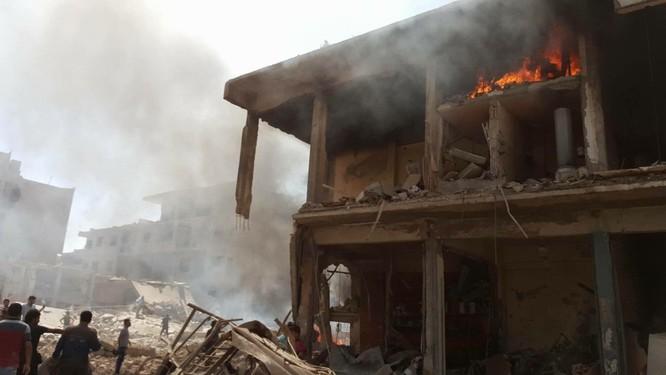Đánh bom khủng bố man rợ ở Qamishli, 44 người thiệt mạng ảnh 3