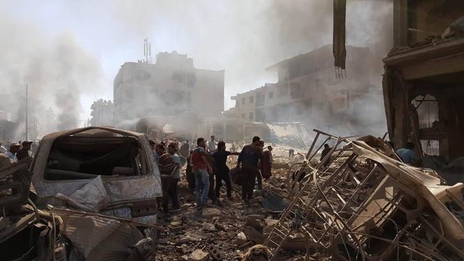 Đánh bom khủng bố man rợ ở Qamishli, 44 người thiệt mạng ảnh 4