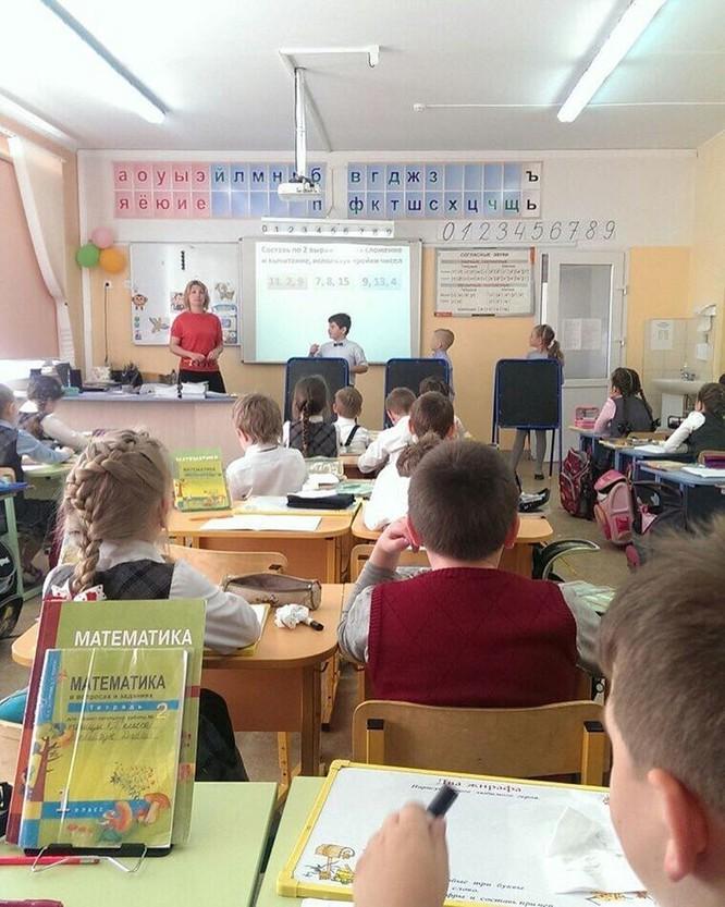 Trường học mới ở Nga: Đổi mới giáo dục với giáo viên thân thiện, học sinh tích cực ảnh 16