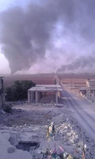 Lực lượng Hồi giáo cực đoan tấn công trên vùng nông thôn tỉnh Hama ảnh 2