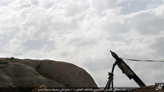 Quân đội Syria đánh chiếm khu hạt giống Palmyra ảnh 7