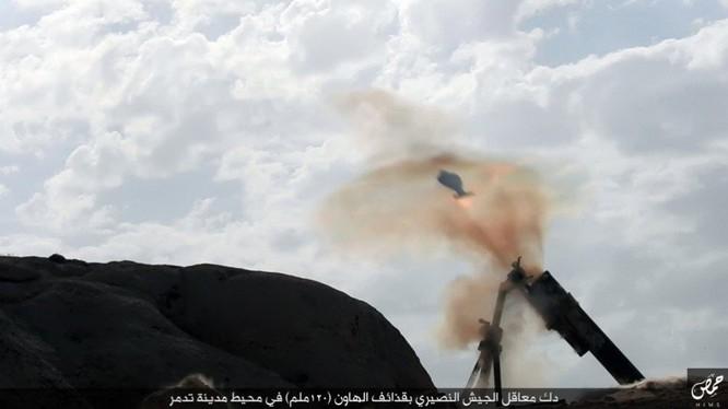 Quân đội Syria đánh chiếm khu hạt giống Palmyra ảnh 8