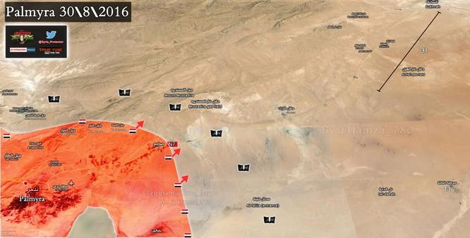 Quân đội Syria đánh chiếm khu hạt giống Palmyra ảnh 1