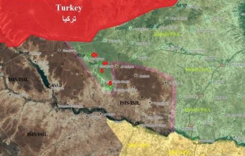 Ngày thứ 9 quân Thổ Nhĩ Kỳ can thiệp vào chiến trường Syria ảnh 1