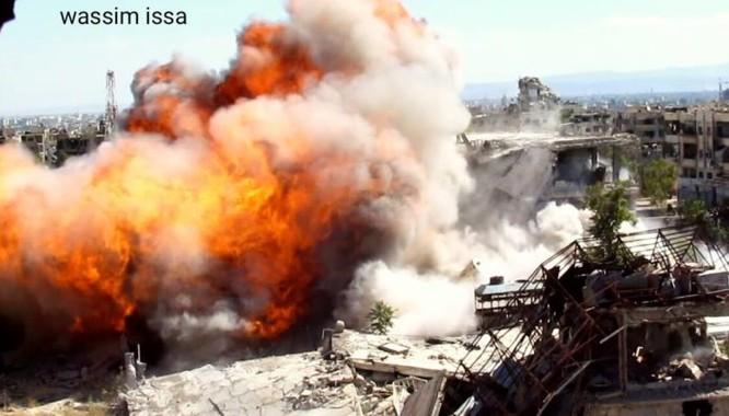 Quân đội Syria đánh sập đường hầm, chôn vùi hàng chục phiến quân Hồi giáo ảnh 1