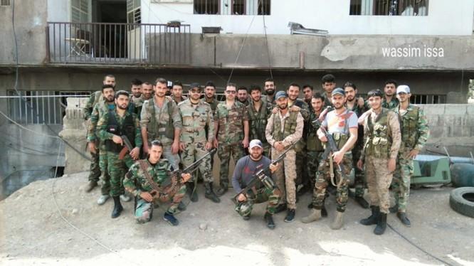 Quân đội Syria đánh sập đường hầm, chôn vùi hàng chục phiến quân Hồi giáo ảnh 6