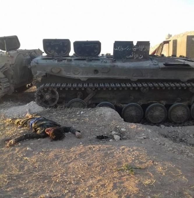 Nhóm Jund Al-Aqsa thảm bại trên miền Bắc tỉnh Hama, 30 tay súng nộp mạng ảnh 5