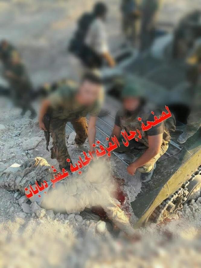 Nhóm Jund Al-Aqsa thảm bại trên miền Bắc tỉnh Hama, 30 tay súng nộp mạng ảnh 6