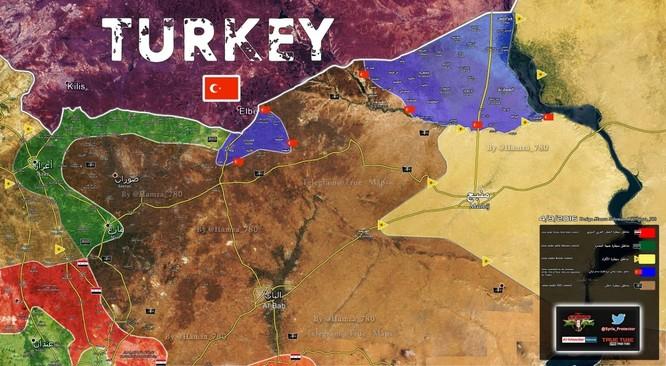 Ngày thứ 11 lá chắn Euphrates: chiến thắng dễ dàng của quân đội Thổ Nhĩ Kỳ ảnh 2