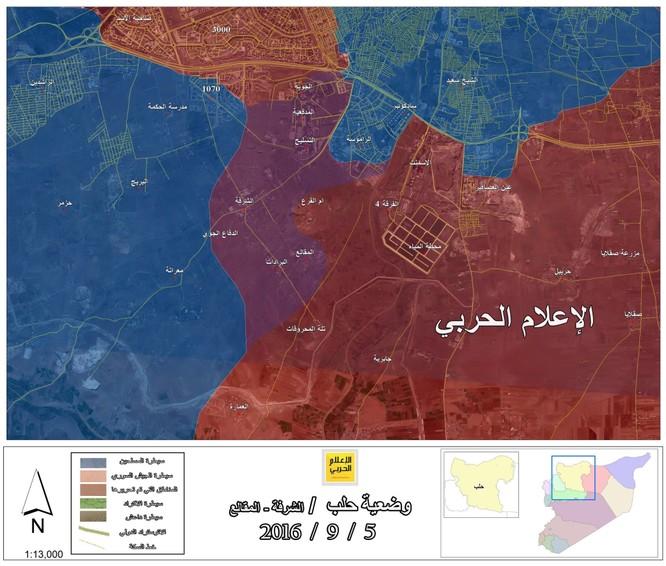 Quân đội Syria mở rộng vùng tấn công ở miền nam Aleppo ảnh 1