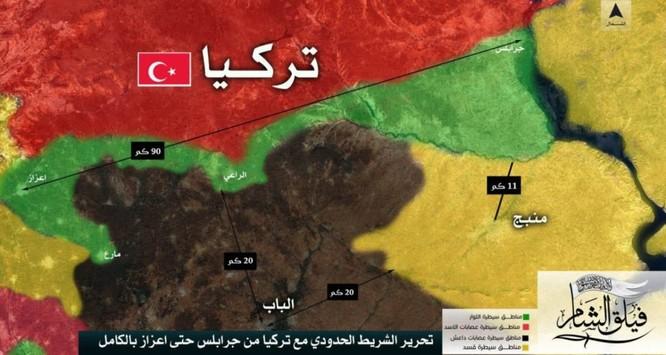 Ngày 12 quân Thổ ở Syria, quét sạch IS trên đường biên giới ảnh 1