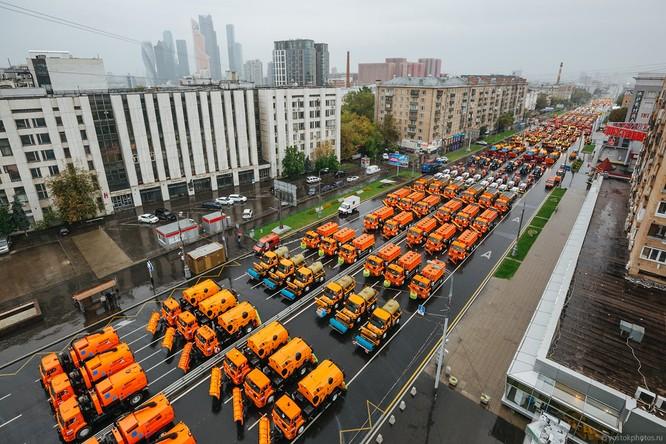 Lễ diễu hành đoàn xe dịch vụ công thành phố Moscow (ảnh + video) ảnh 2
