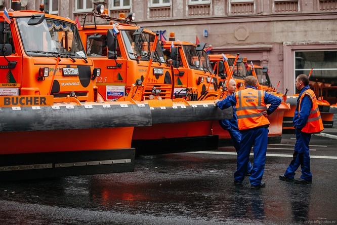 Lễ diễu hành đoàn xe dịch vụ công thành phố Moscow (ảnh + video) ảnh 10