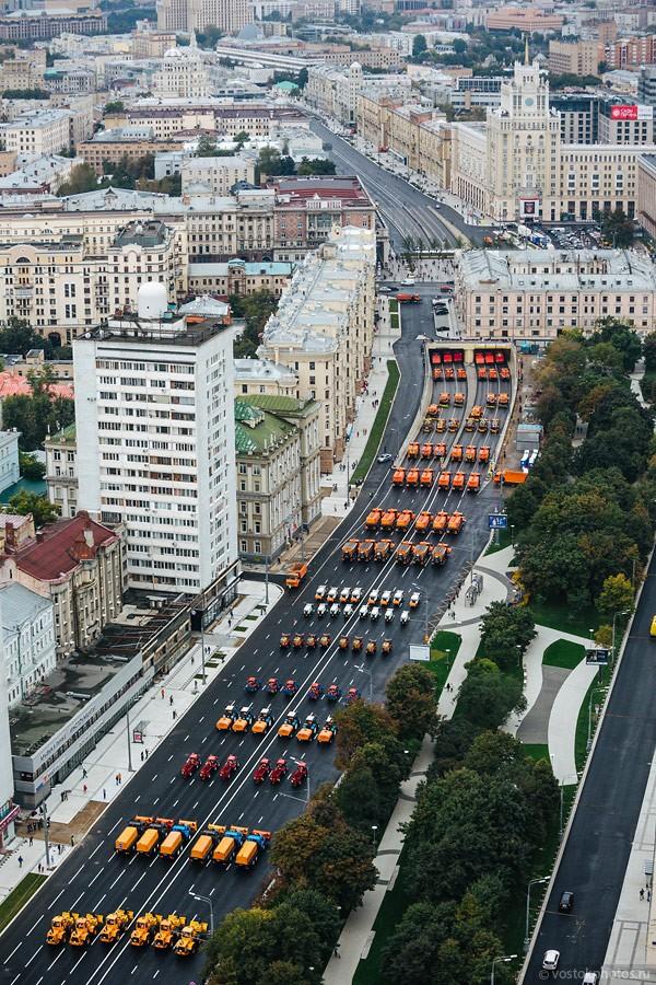 Lễ diễu hành đoàn xe dịch vụ công thành phố Moscow (ảnh + video) ảnh 18