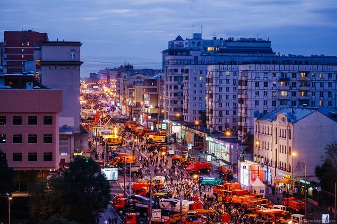 Lễ diễu hành đoàn xe dịch vụ công thành phố Moscow (ảnh + video) ảnh 25