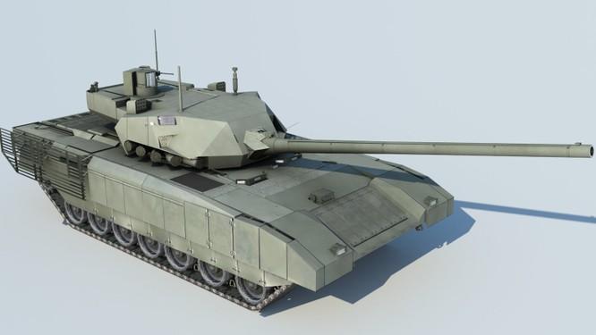Tăng T-14 Armata phô diễn hoành tráng trong video kỷ niệm ngày Tăng Thiết giáp Nga - VIDEO ảnh 1