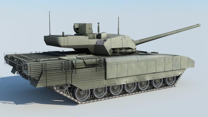 Tăng T-14 Armata phô diễn hoành tráng trong video kỷ niệm ngày Tăng Thiết giáp Nga - VIDEO ảnh 2