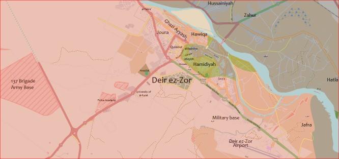 Chiến sự Syria: Phiến quân IS tấn công gây nguy ngập cho sân bay Deir ez Zor ảnh 1