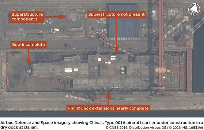 Chóng mặt tốc độ đóng tàu sân bay thứ hai CV -17 của Trung Quốc ảnh 6