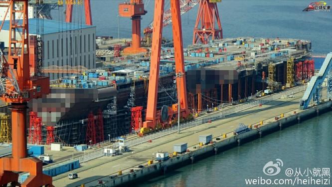 Chóng mặt tốc độ đóng tàu sân bay thứ hai CV -17 của Trung Quốc ảnh 12