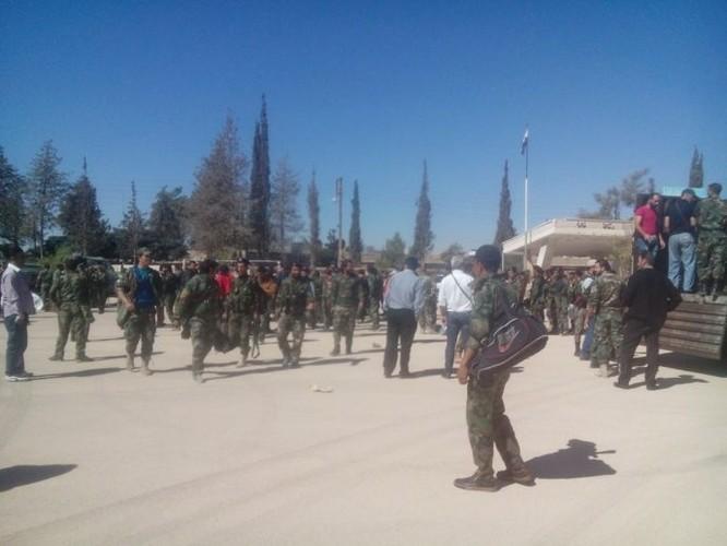 Lực lượng quân tình nguyện đến tiếp viện cho Hama ảnh 3