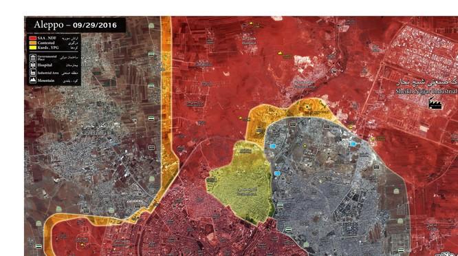 Quân đội Syria giải phóng Bệnh viện Ung thư Kindi ở miền Bắc Aleppo ảnh 2